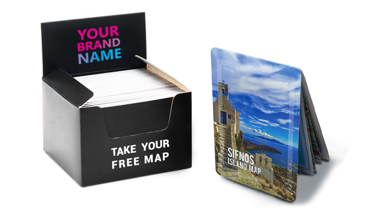 Sifnos Map Display Box