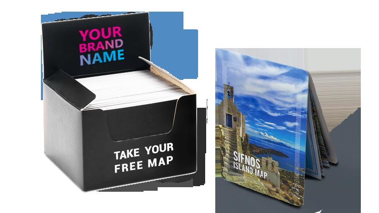Sifnos Map Display Box